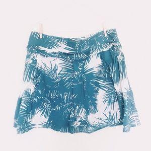 Proenza Schouler For Target Teal Tropical Skirt